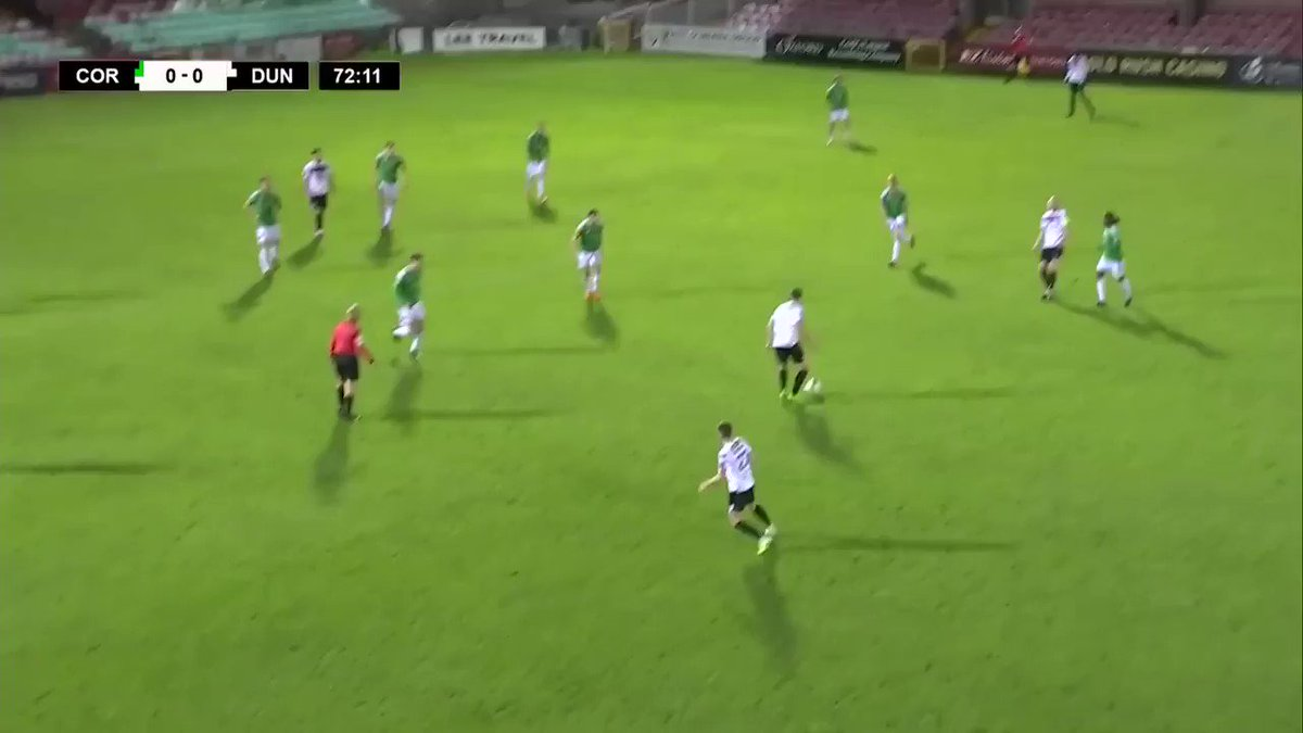 Patrick Hoban gives @DundalkFC the lead against @CorkCityFC in the 73rd minute #RTESoccer #RTESport #WatchLOI