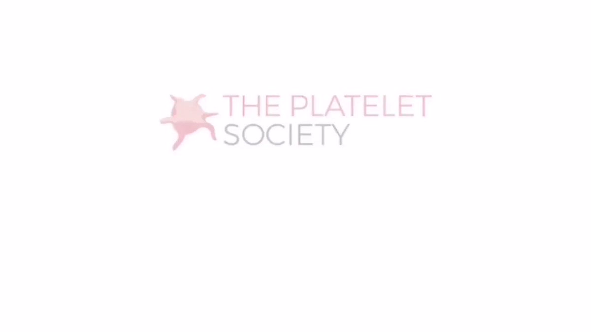 Image for the Tweet beginning: The Platelet society promotes excellence