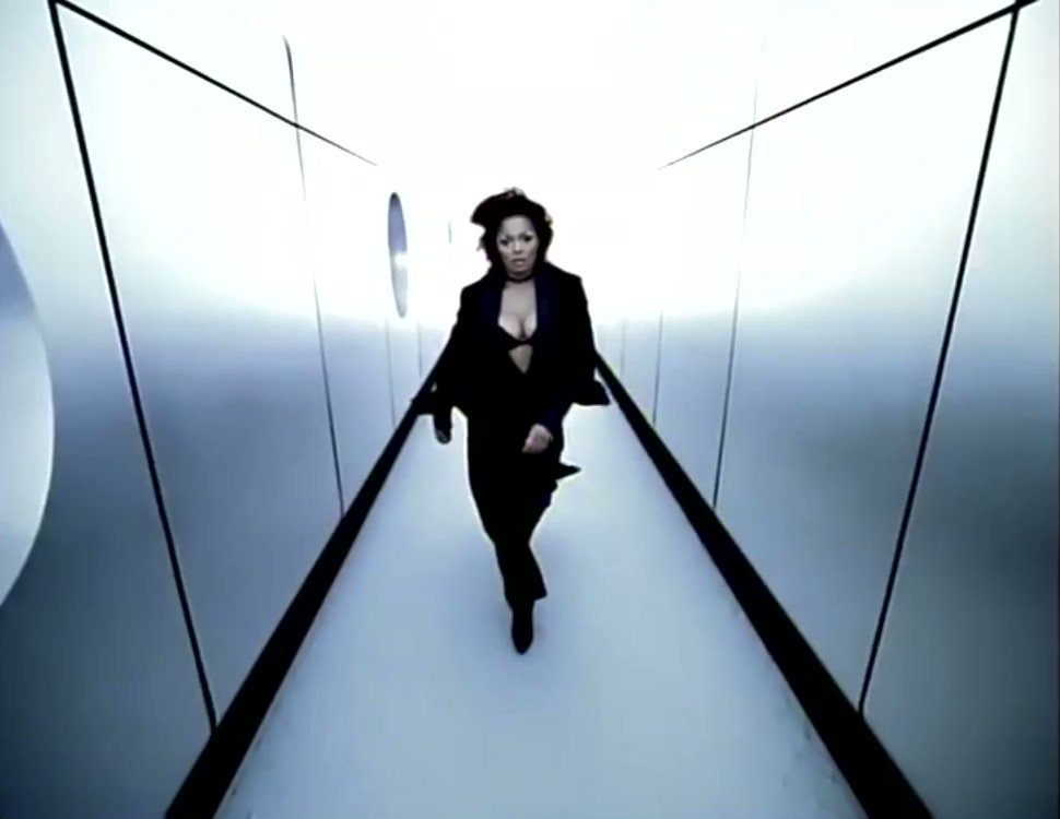 Janet Jackson released 'I Get Lonely' 23 years ago today. She was in her birkin with this classic.