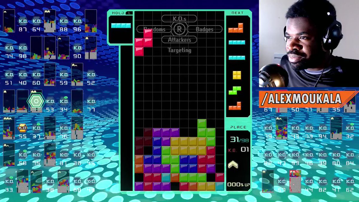 Cant believe I got trolled by Tetris 99