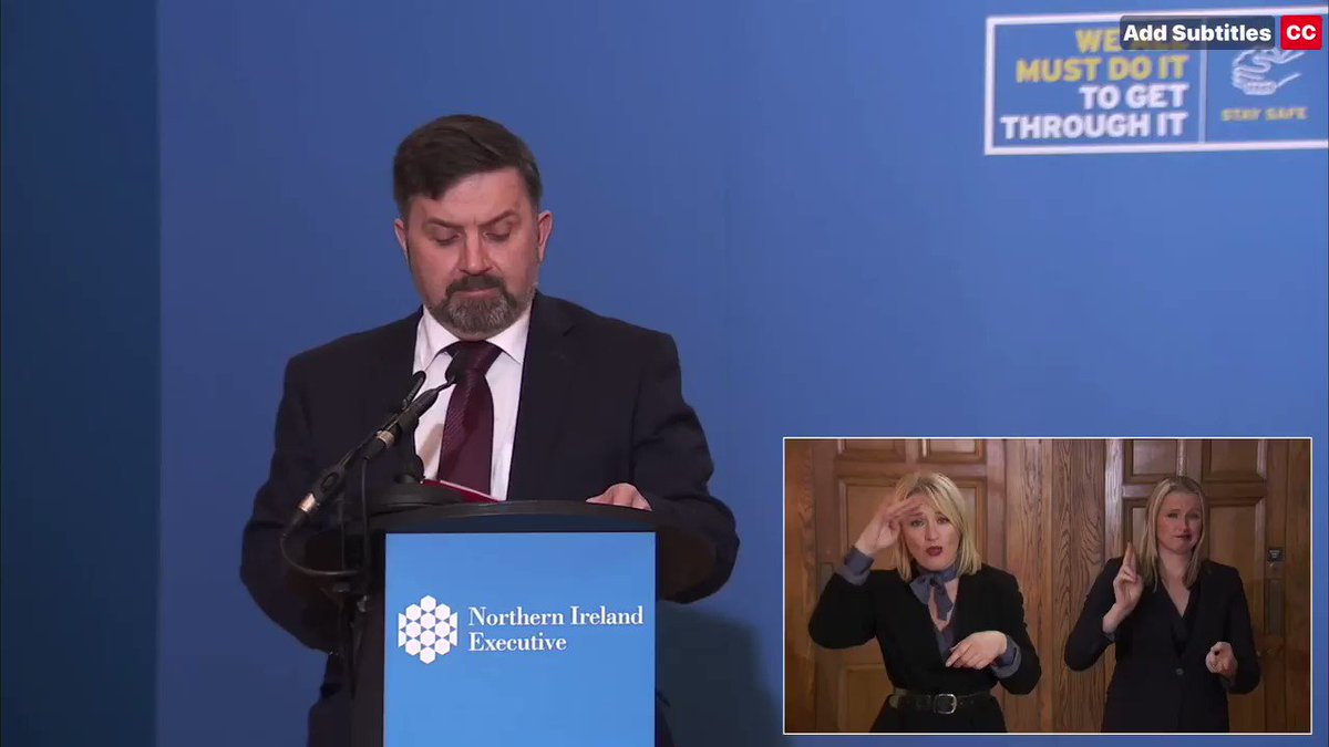 Health Minister appeals to public 'with every ounce of energy I have left'