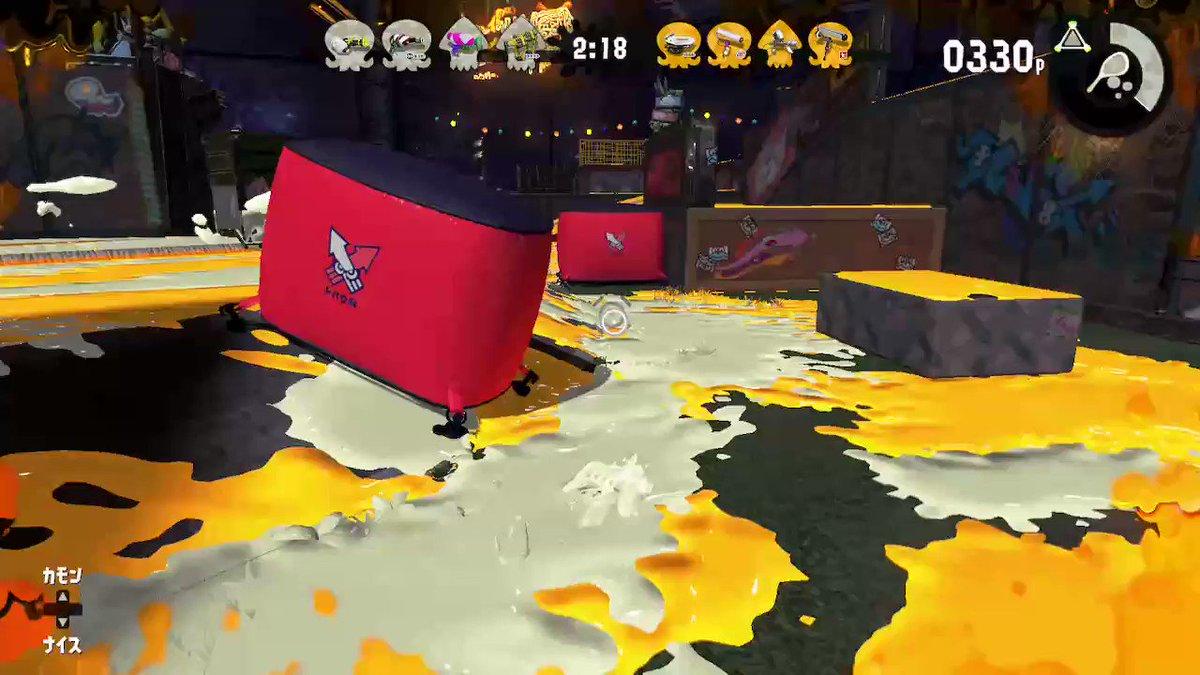 UCHさんがお墓をたててくれました(ぇ) #Splatoon2 #スプラトゥーン2 #NintendoSwitch