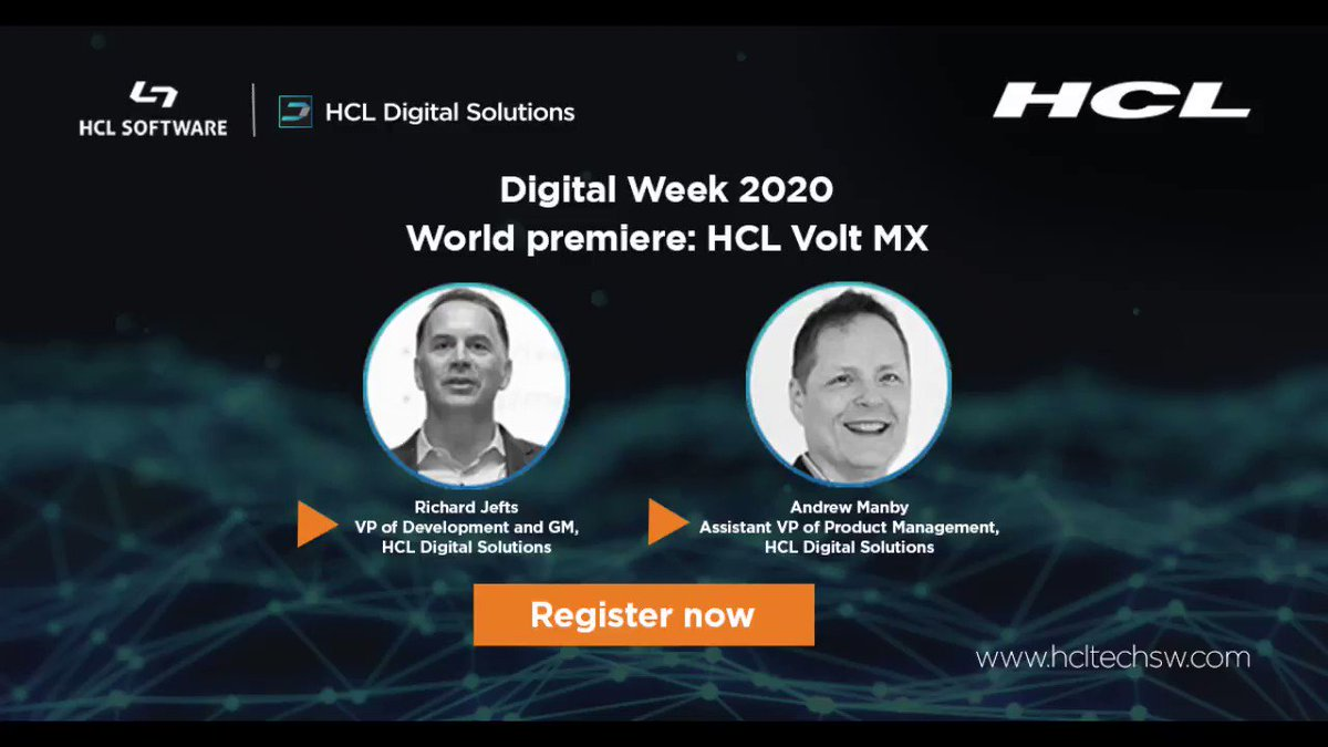 @HCLDigital continues to invest and grow our Application Development portfolio; Volt MX complements Domino, our core platform. Find out more from @RichardJefts and me. #dominoforever