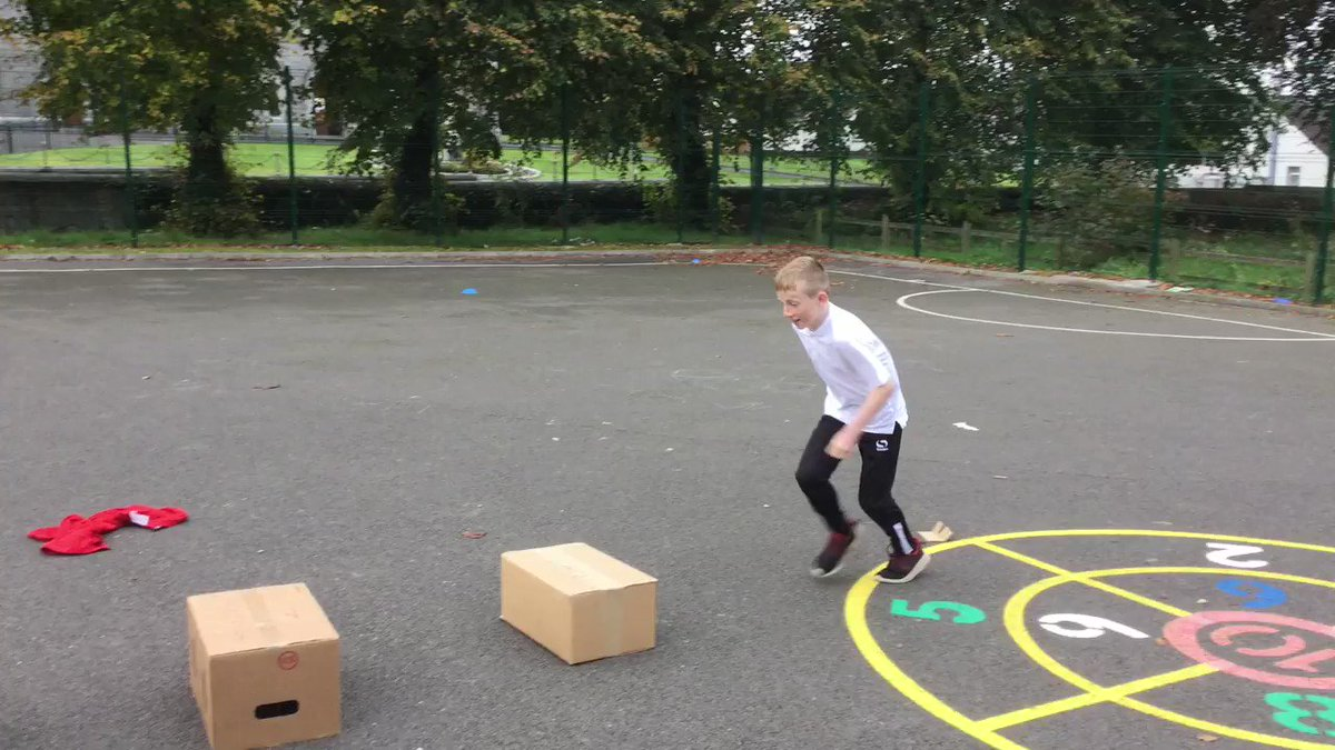 Busy day for our young scientists #MSDreamSpace testing our obstacle courses