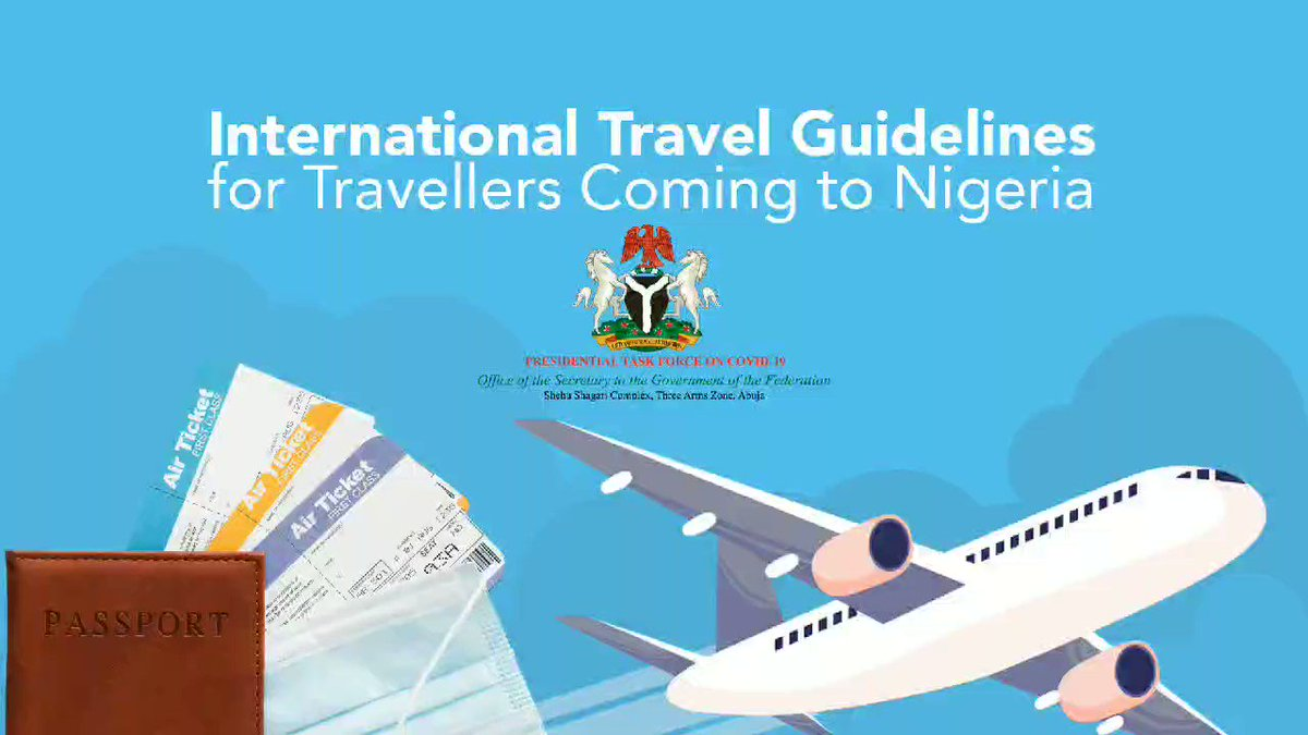 All travelers into Nigeria should: ✅Take a #COVID19 PCR test at an accredited lab within 5 days prior to departure ✅Complete registration on nitp.ncdc.gov.ng within 3 days prior to boarding A step-by-step guide on international travel to Nigeria: youtu.be/tOM68QCA5sk