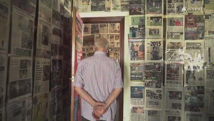 Mi abuelo Andrés es un crack 😉🔝  🎥Nuevo video de #IniestaTV en @rakutensports   僕の祖父は最高です😉🔝 @rakutensportsで#IniestaTVの新動画配信