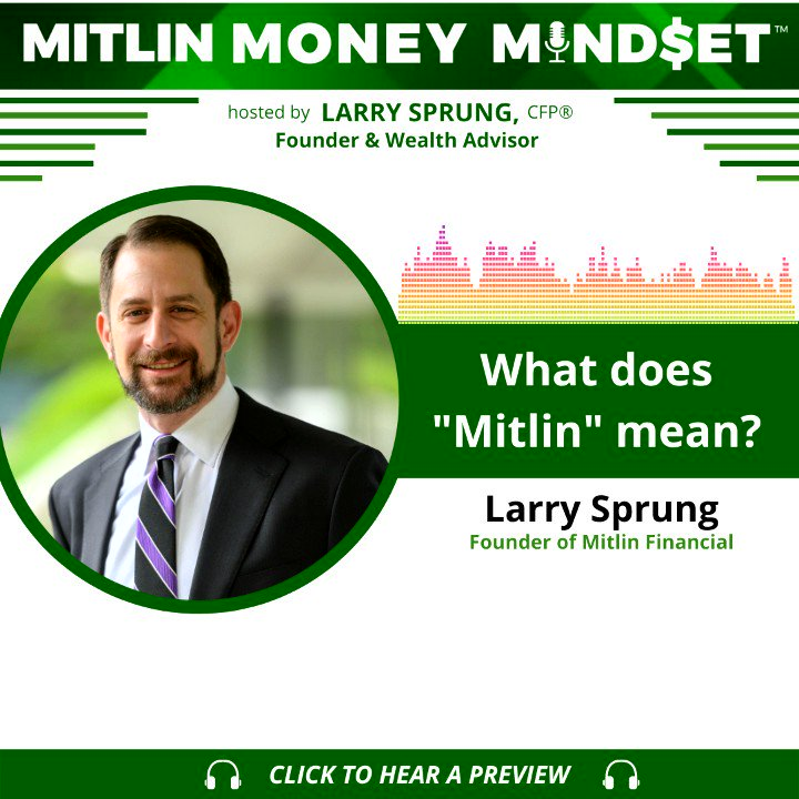 Our Founder and Wealth Advisor   @Lawrence_Sprung, CFP® answers the most commonly asked question we receive. Oddly enough it is not a finance-related question.  🎧 Listen to the full story in this episode of the Mitlin Money Mindset™ @MitlinMoney