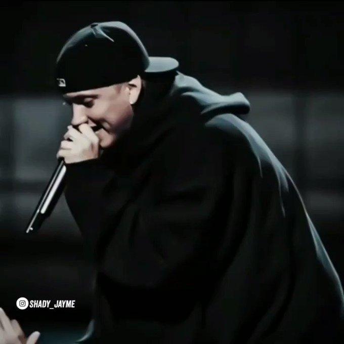 Happy birthday to goat Eminem!