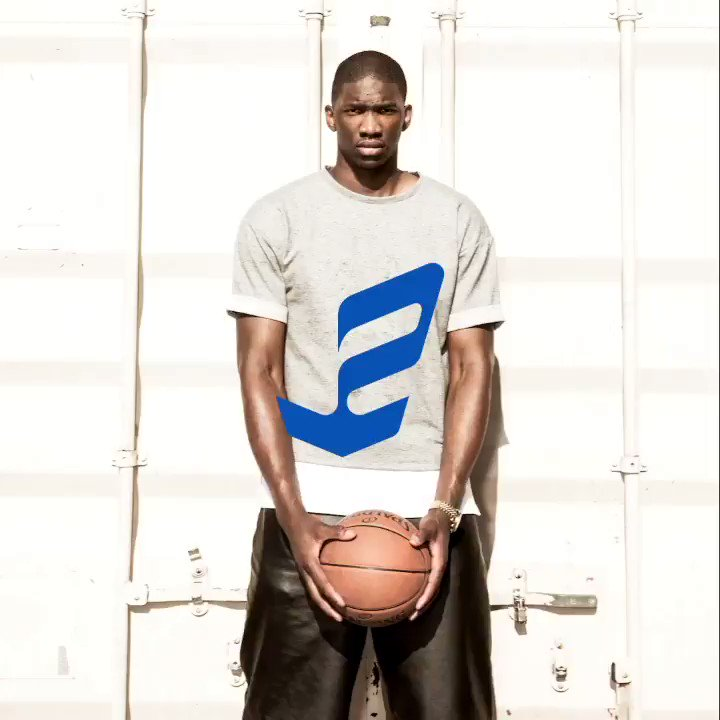 """Big man on campus. The #EmbiidOne """"Lawrence"""" celebrates the place where @JoelEmbiid's game put him on the map📍🗺. Available 10.23. https://t.co/fOtgBKd4BG"""