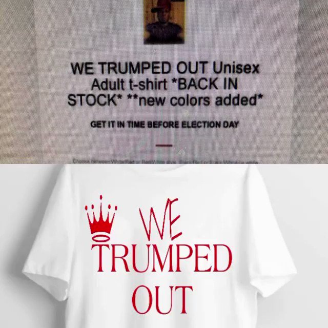 Thank God It's Friday! Leave a comment for a chance to win the free we trumped out t-shirt tonight. Let's Go! OMARRSHABAZZ.COM