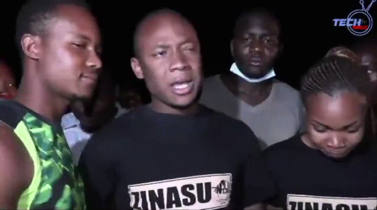 "Unbowed and undeterred; Takudzwa @ngadziore speaks after being released from Mnangagwa's jail after spending a month in prison without trial! ""The country will never die, young people will save it."" Joshua Nkomo. The youth are the future! The future is bright!"