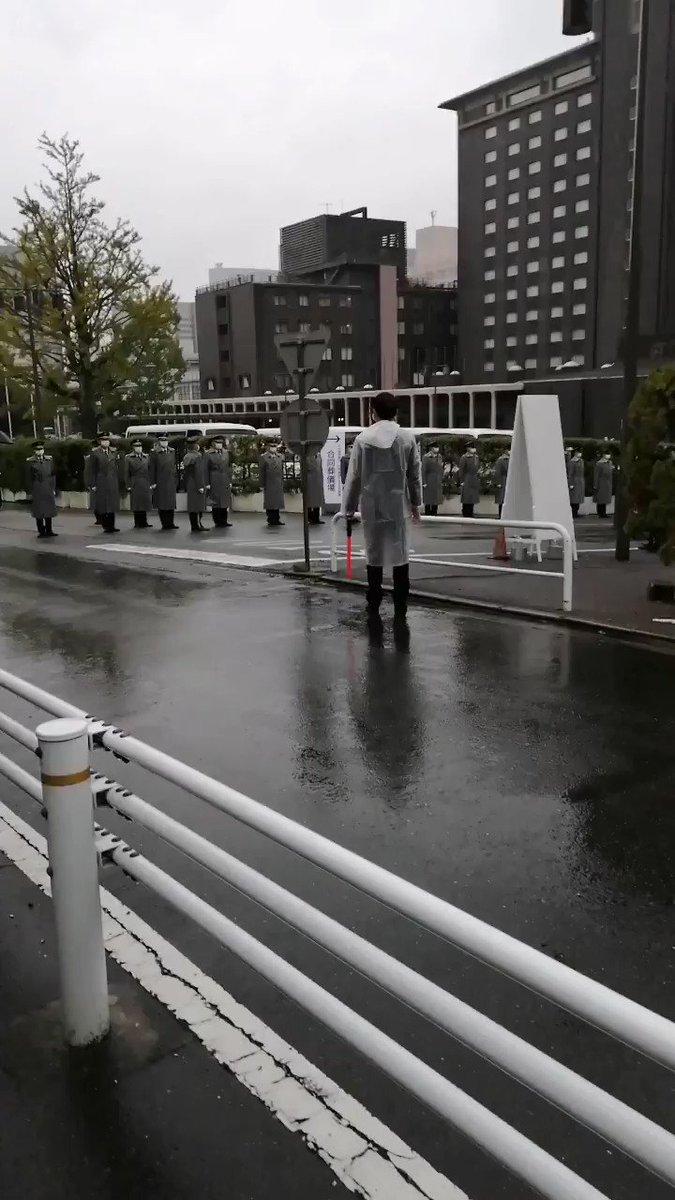 【拡散希望】中曽根元総理の葬式です。やりすぎでは??(この後警官に撮影を妨害されました。また、大手マスコミはいませんでした。)