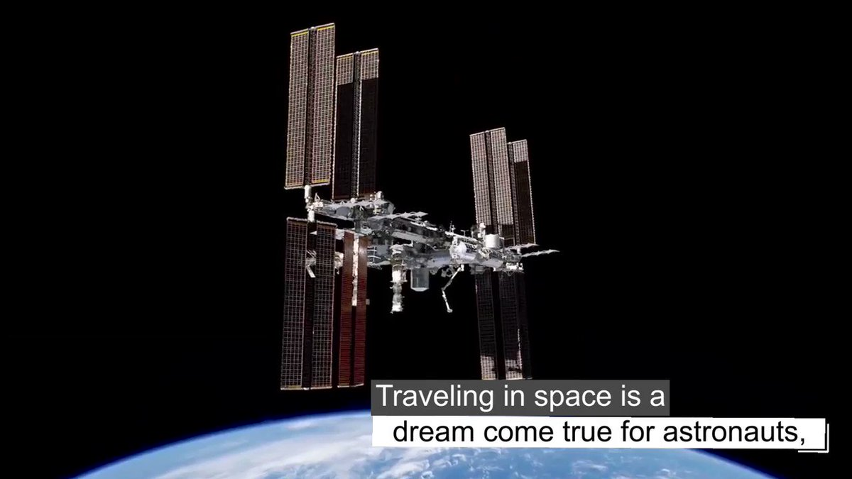Sweet dreams from @Space_Station. See how studying @NASA_Astronauts sleep patterns helps provide quality rest for people in space and on Earth. #SpaceStation20th