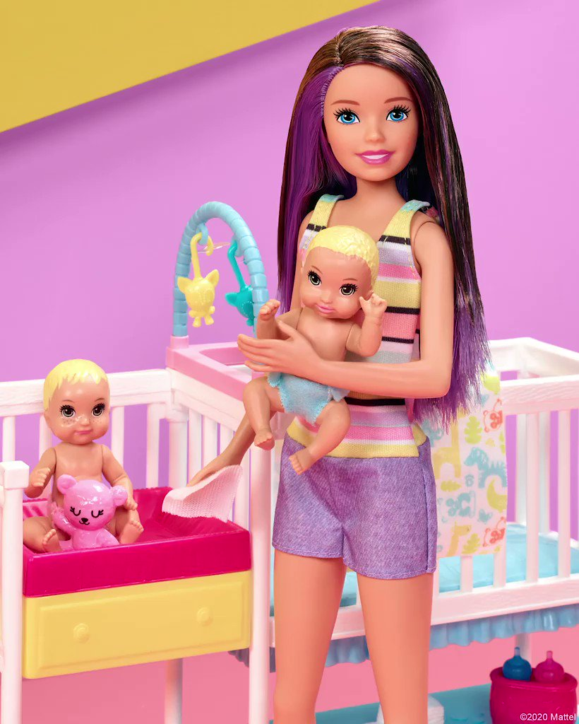 Empathy starts at playtime - and there are so many ways to practice caring for another! New research shows that playing with dolls activates brain regions that allow children to develop social processing skills like empathy. For more info, visit: barbie.com/BenefitsOfDoll…