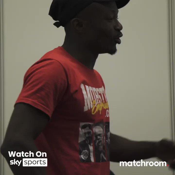 Replying to @MatchroomBoxing: 🇨🇲 Thomas Essomba pays homage to @roger_milla_9 🕺  #WardEssomba #RitsonVazquez