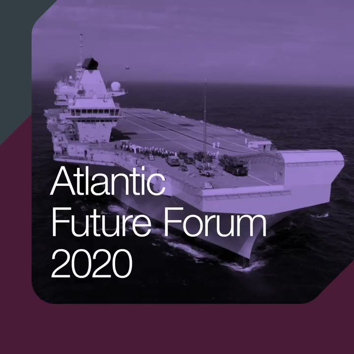 Next week sees the return of the Atlantic Future Forum which will be hosted on HMS Queen Elizabeth. The Forum looks at how we secure our future by working with the US and global allies to meet the challenges of the coming decades #AFForum2020