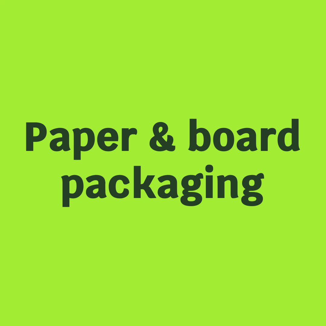 Image for the Tweet beginning: Paper & board packaging is