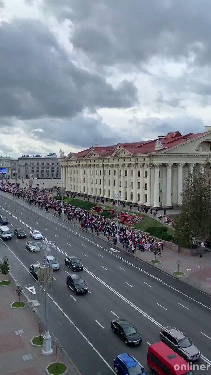 The endless river of people. March of Wisdom. Minsk. https://t.co/K9F7mpoPBx