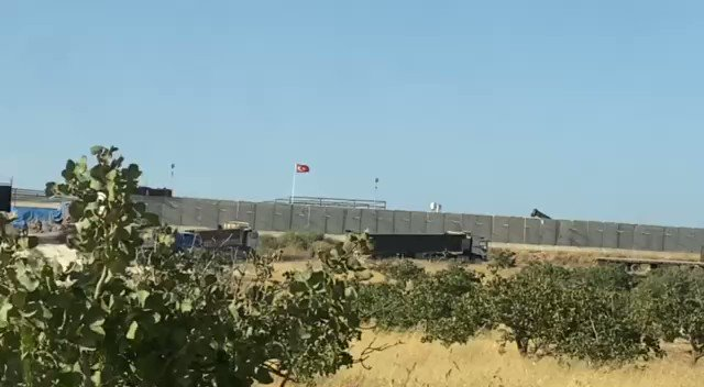 Sources Says that The Turkish army #TSK begins evacuating the observation post in #Morek #Idlib