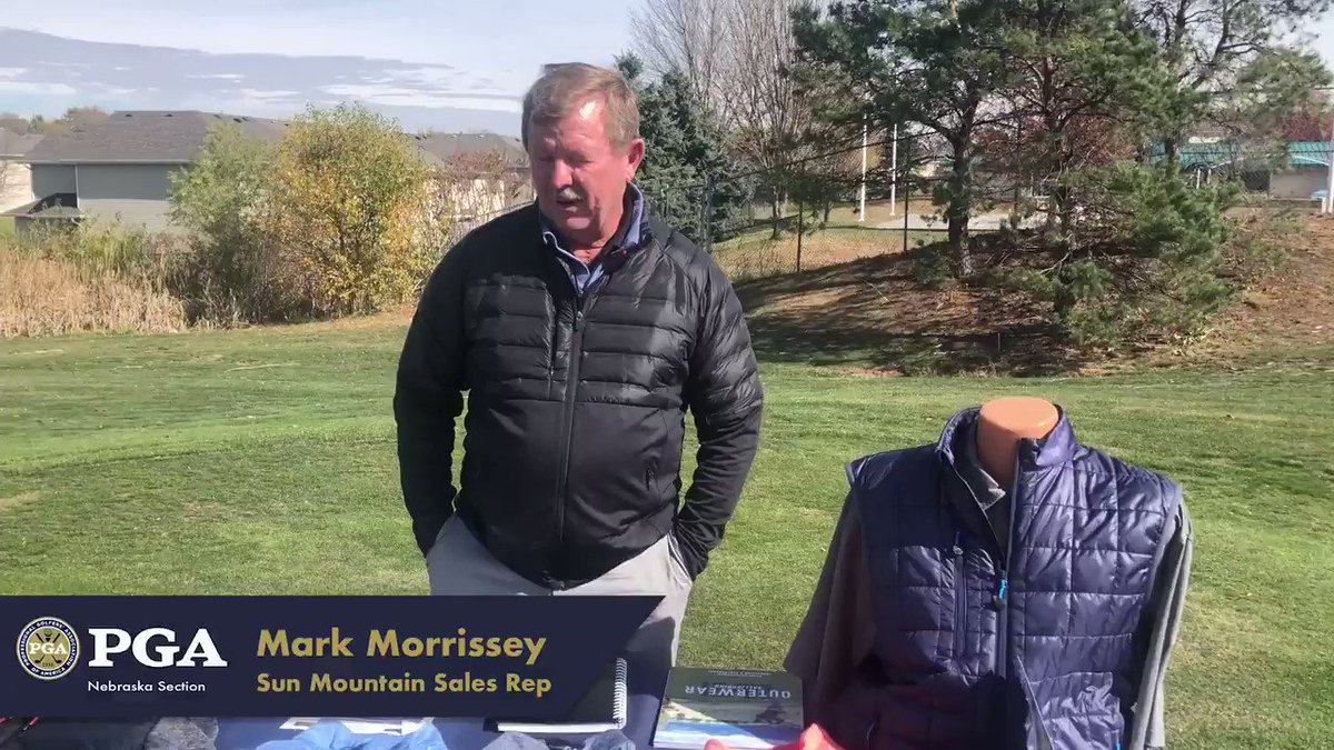 Image for the Tweet beginning: Mark Morrissey with @SunMountainGolf joined