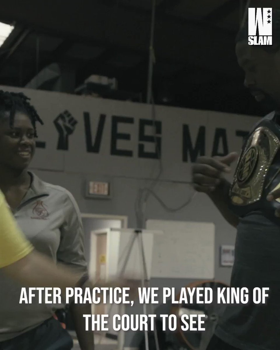 Queen of the Court gets SPICY when you have Azzi and the GTS crew playing. 🌶️ @UAbasketball @azzi_35 @GTS_Fusion All Eyes On Us episode 2 is LIVE: slam.ly/aeou-ep2