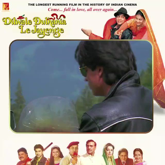 25 years!!! Filled with gratitude towards you for loving Raj & Simran, with all your heart. This always feels special. #DDLJ25 @yrf