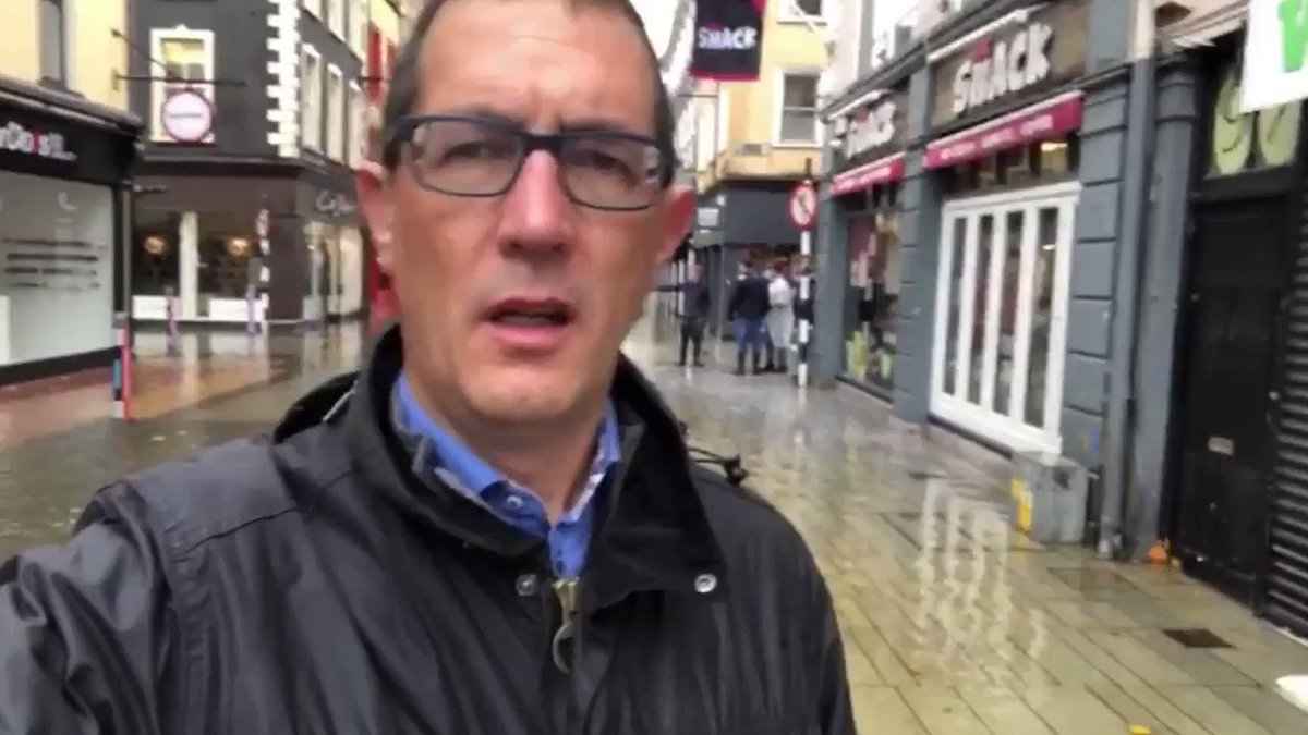 It's a very hard day for businesses in Cork. We urge everyone to show support for local businesses and to seek out local traders when shopping online. #ChampionGreen #CorkTogether  @corkcitycouncil @corkcitycentre https://t.co/MGSzJP5oTk