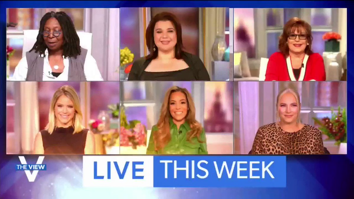 🚨 TOMORROW! @DrBiden joins the ladies of @TheView LIVE at 11am EST on @ABC!  She'll talk to co-hosts @WhoopiGoldberg @JoyVBehar @ananavarro @sunny and @sarahaines with less than two weeks to go until Election Day! #mustseetv 📺 https://t.co/MNVTR1lOJW