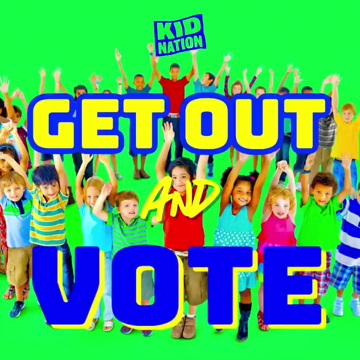 Every movement needs a soundtrack and as we look to instill the importance of voting as the ultimate act of citizenship into our next generation of leaders at @KidNation we wanted to provide the soundtrack to this movement.  Please enjoy, listen, learn, share and participate!