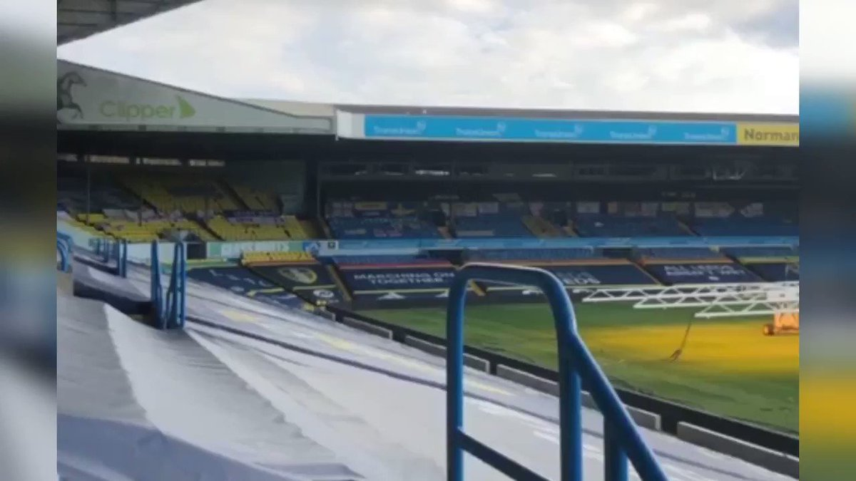 Image for the Tweet beginning: It's great to see @LUFC