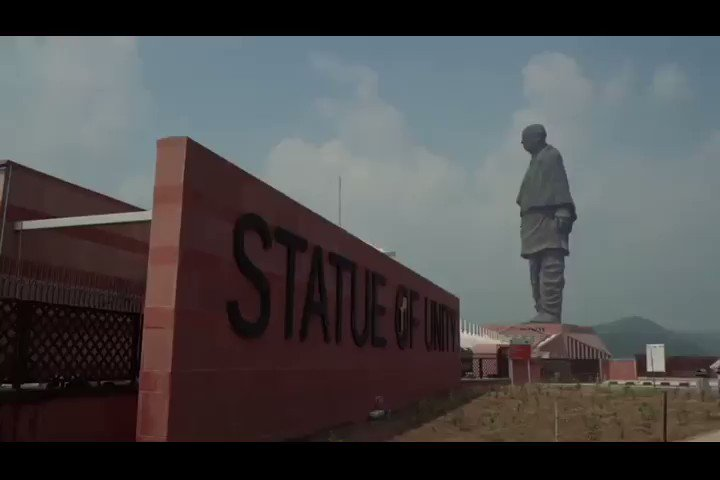 The worlds tallest #StatueOfUnity is ready to welcome you again with #NewNormal