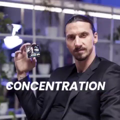 Did you think it was just an ordinary chewing gum? Zlatan doesn't do ordinary things. Try @mindthegum the first time for FREE, and get CONCENTRATION and ENERGY all in one chewing gum. bit.ly/34eLUDq