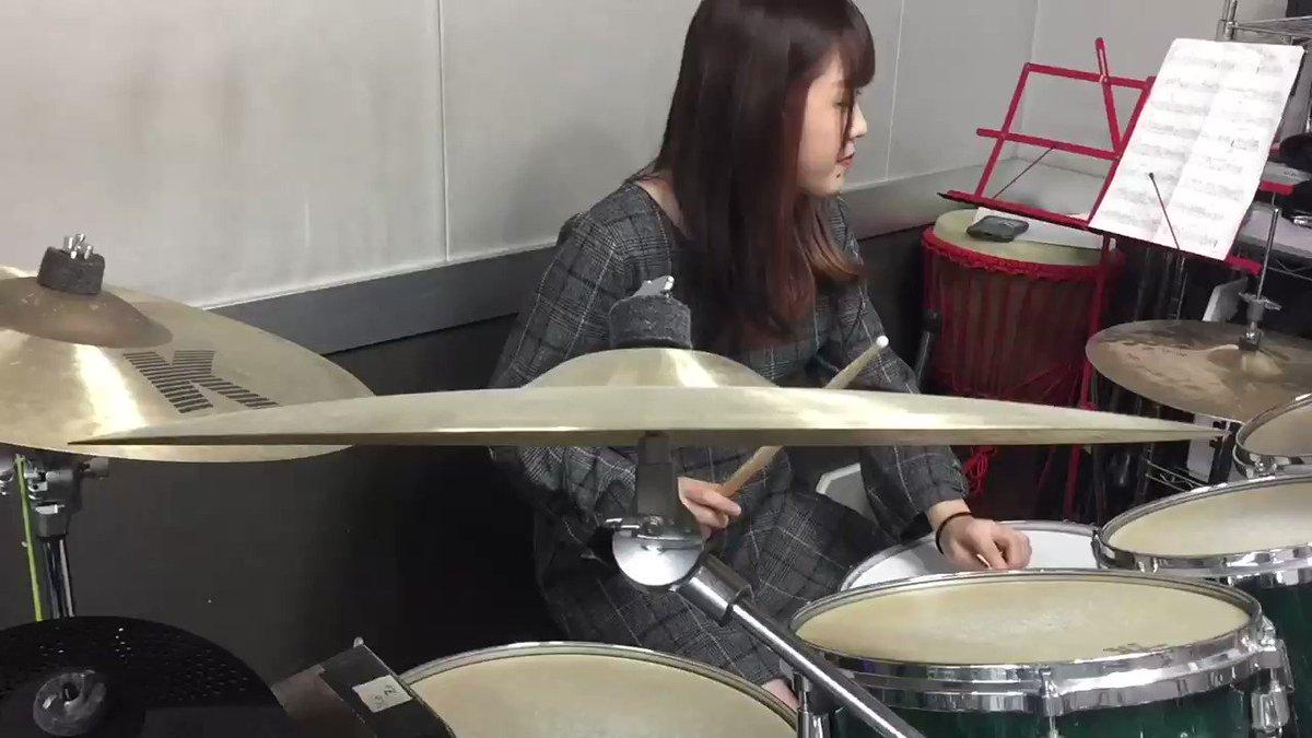 YouTube上げました〜!見てください〜!水流のロック 叩いてみた #ドラム #叩いてみた