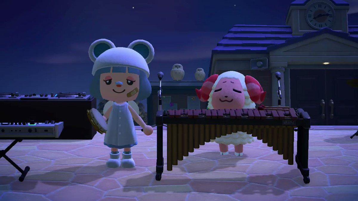 #どうぶつの森 #ちゃちゃまる  #AnimalCrossing #ACNH #NintendoSwitch一緒に演奏してみましたw