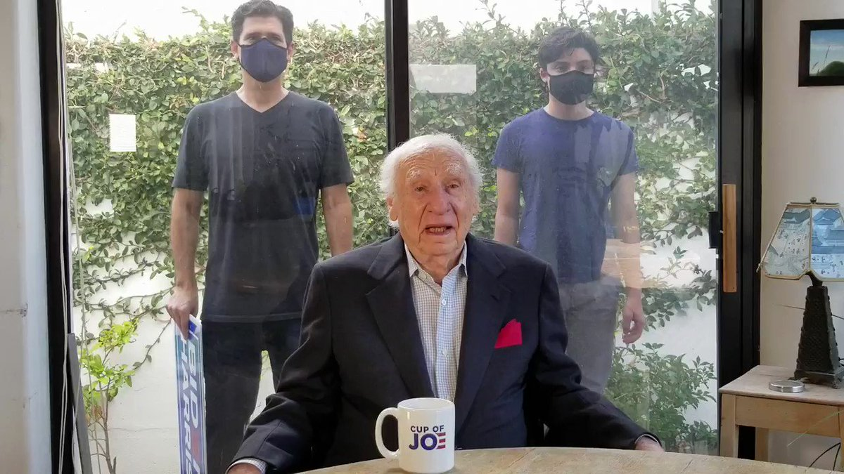 My father, @MelBrooks, is 94. He has never made a political video. Until now.   #MelBrooks4JoeBiden #BidenHarris #GrassrootsDemHQ https://t.co/yQZhopSbNV