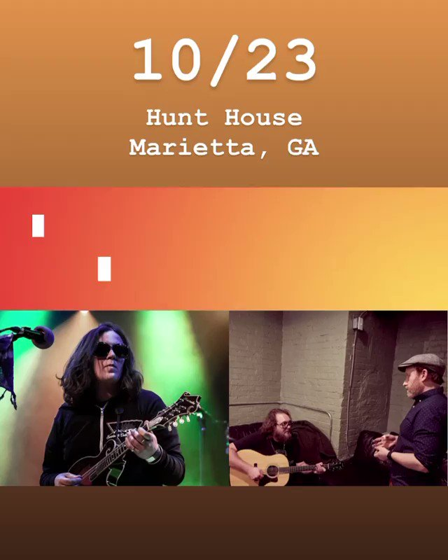 Southeast folks, catch Mimi this Friday and Saturday in GA with the heartwarming and talented Rev & Andy of The Lil Smokies. Tickets still available for the Hunt House on Friday. Bonus - the food is amazing hunthousemarietta.com/shop/ols/produ…