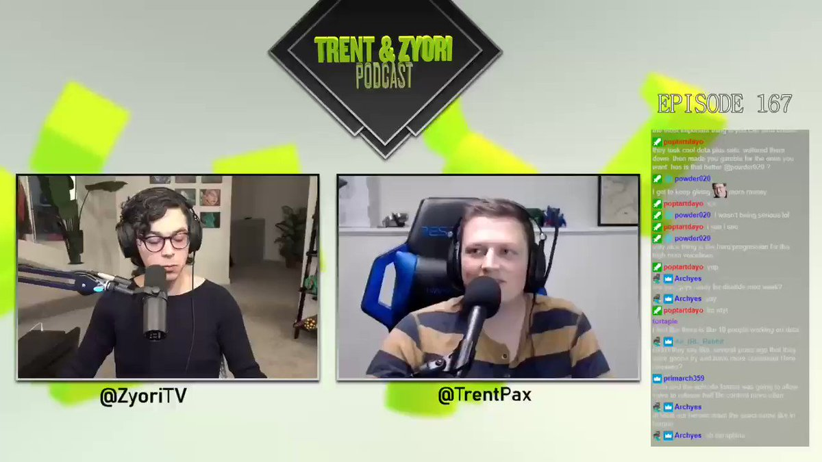 moonduckTV - EP167 - @TrentPax & @ZyoriTV Podcast  Valve's Communication About Communication  Also talked about the Golden Age of @DOTA2, cryptocurrency, and potential for the new anti-cheat system.  video:   audio: