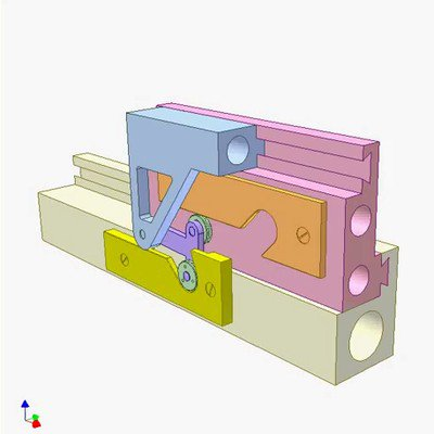 Double Translating Cam Mechanism