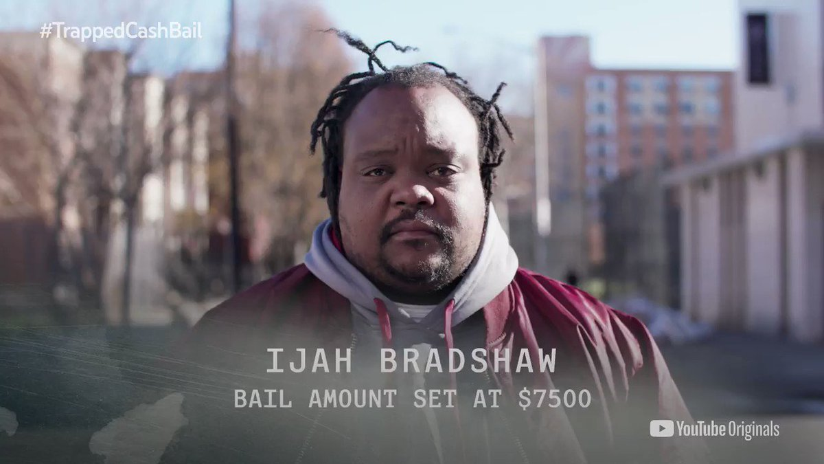 Every year, millions of Americans are incarcerated before even being convicted of a crime - all because they can't afford to post bail. Check out @Youtube's new documentary #TrappedCashBail, featuring @BailProject: https://t.co/zY3XieEQst https://t.co/eYTxAU0gAu