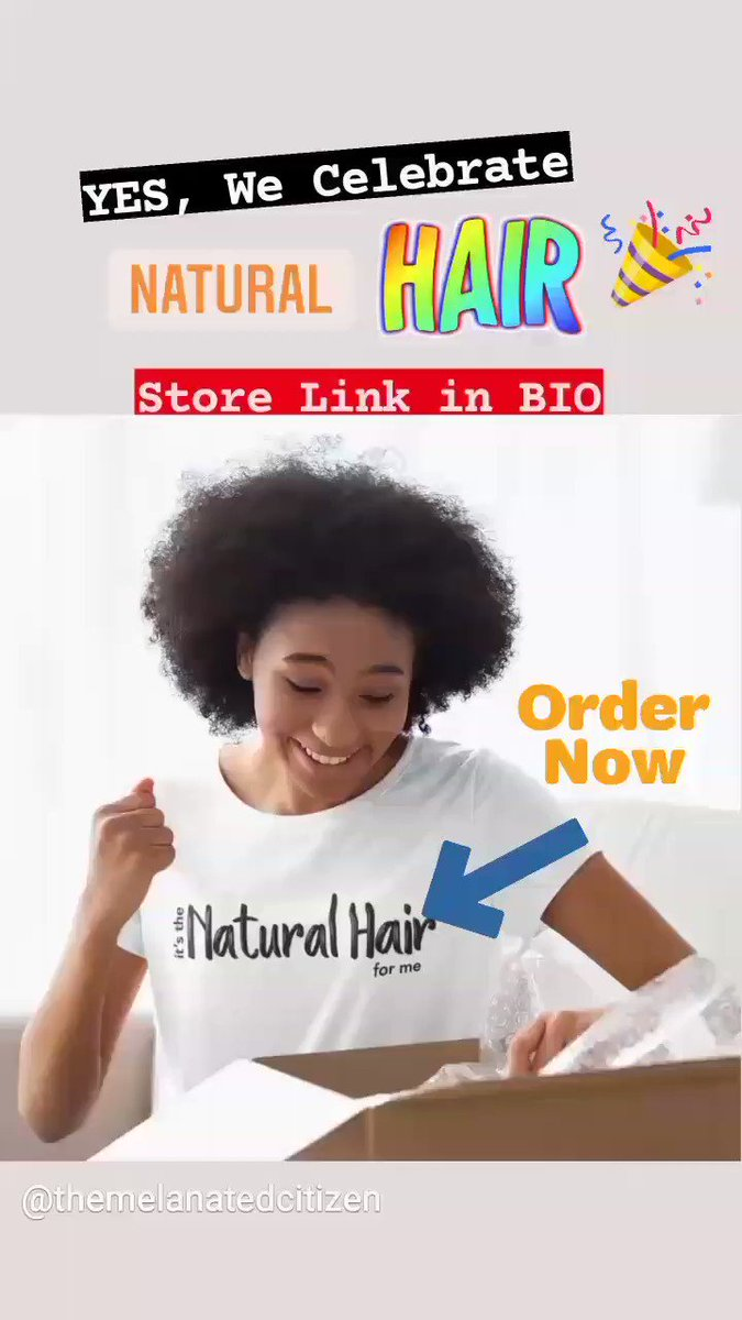 """Image for the Tweet beginning: """"It's the Natural Hair for"""