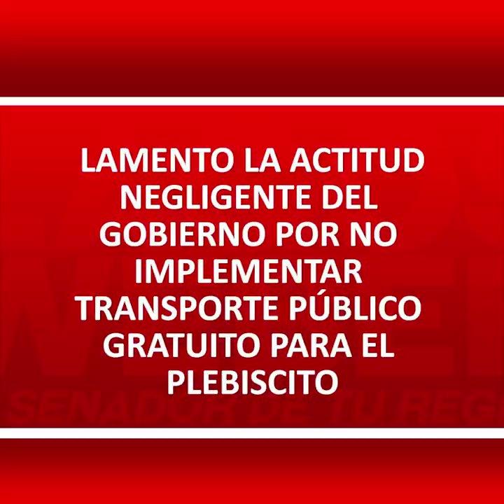 Image for the Tweet beginning: Lamento actitud negligente del gobierno