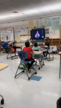 Image for the Tweet beginning: Mrs. Tye's class did a