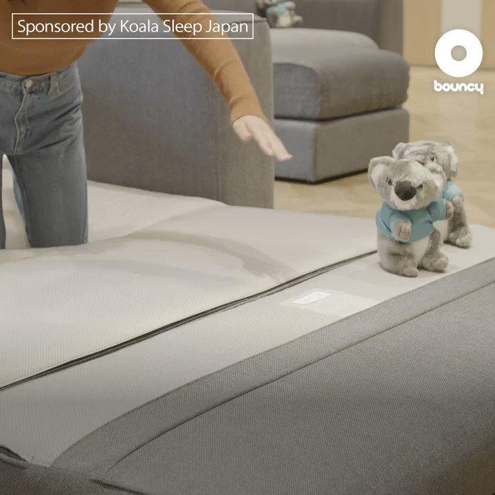テレビもゲームも睡眠も。新しい暮らしを実現する「コアラ」は家具ブランドへ 発表会の詳細はこちら👉 Sponsored by Koala Sleep Japan @KoalaMattressJP  出演:紗綾 @SaayaOfficial #コアラ快眠術 #コアラソファーベッド #ソファーベッド