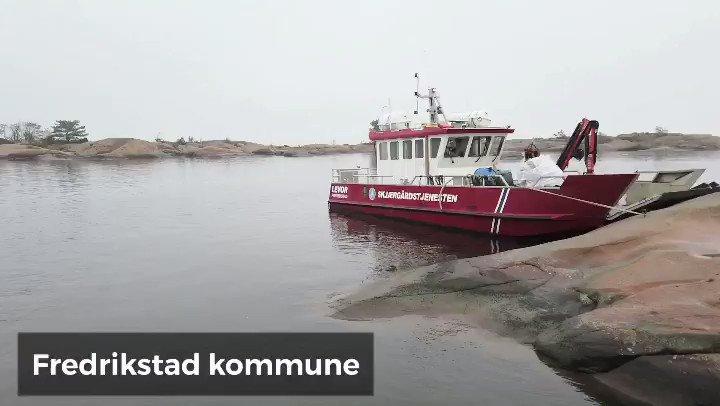 Brukte 5 mennesker i 5 timer til å fylle vårt lille skip med plast fra øyer i Fredrikstad. ... - og vi må tilbake.  40 sekunder om gårsdagen  med @Fredrikstadkomm og Skjærgårdstjenesten @miljodir