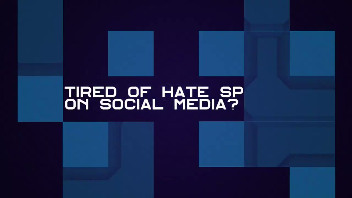 Image for the Tweet beginning: Are you tired of #hatespeech
