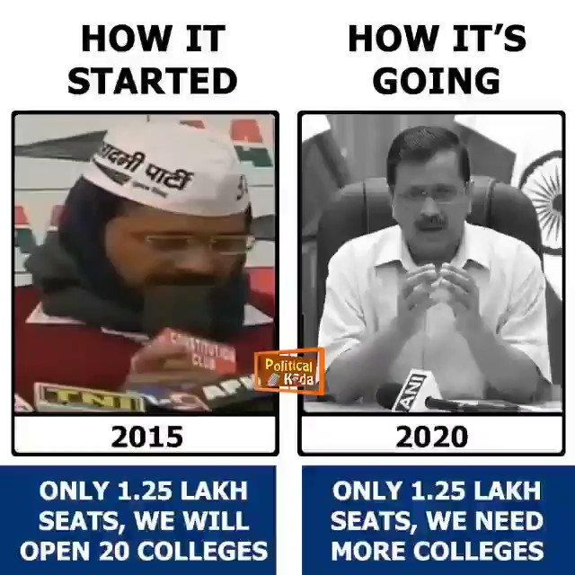 @AamAadmiParty All credit goes to Kejriwal for doing nothing for 5 years  #ModiHaiToMumkinHai #GovardhanPuja #DelhiRains #DelhiAirQuality #Diwali #Deepotsav2020 #BJP #PMModi