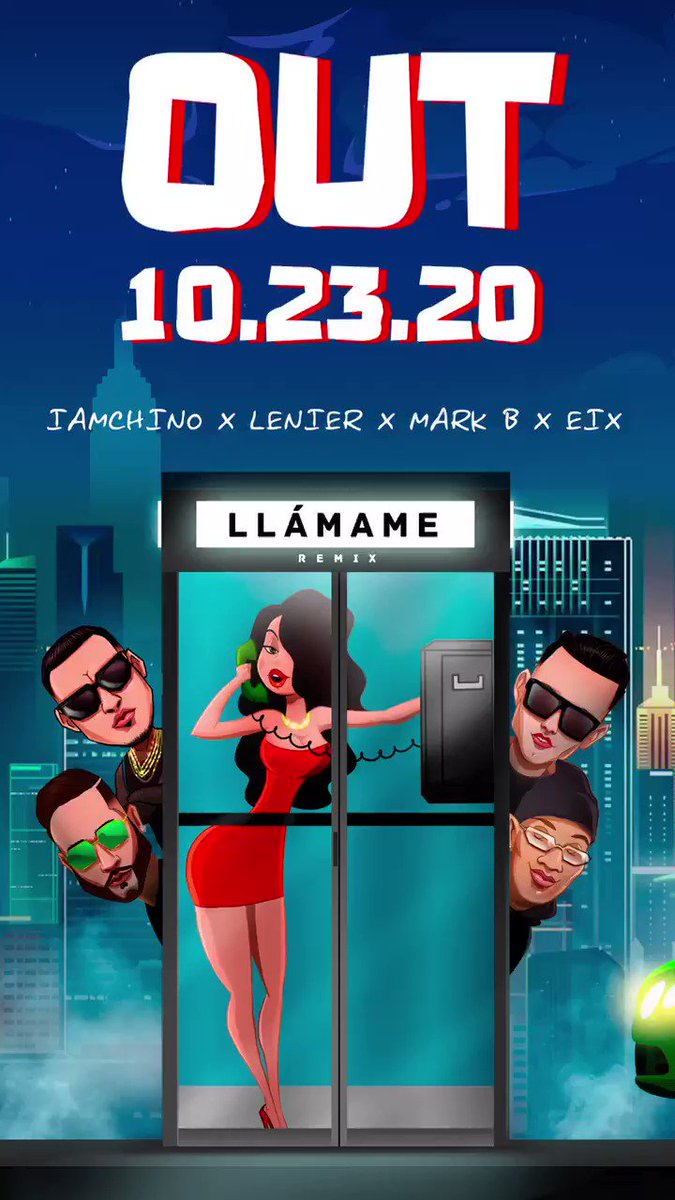 Tomorrow #llamameremix letgoooo @Mr305_Inc