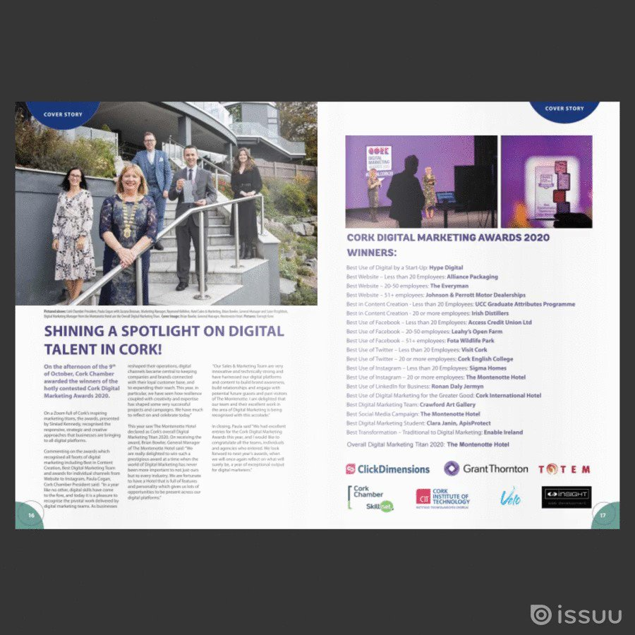 Looking for something to browse this evening? Our Chamberlink magazine is now available online.  See the Winners of CDMAs 2020 Get our reaction to Budget 2021 Solutions for those exporting  Member News New appointments Upcoming events  .. and much more!  https://t.co/bb3GlXVGiX https://t.co/mCEAHEo6Kd