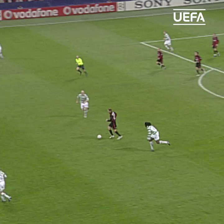 🔥 AC Milan hero Kaká against Celtic in 2007...  🍿😎 These two meet again tonight in the @EuropaLeague ⚽️  #UCL | #TBT | @acmilan https://t.co/SpwnCyg9BT https://t.co/EzxaGngY0R