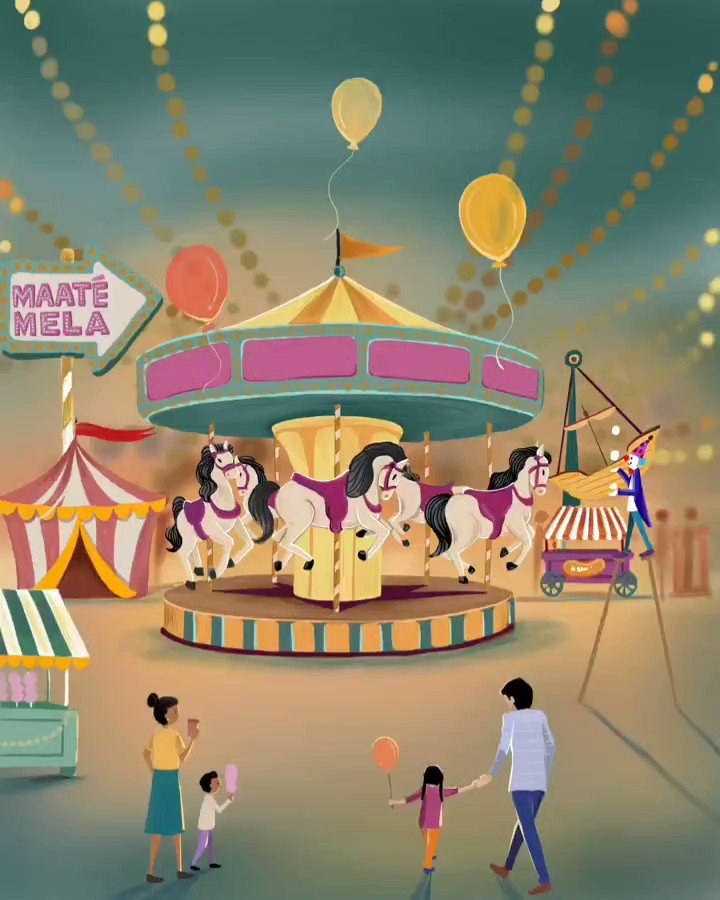 No matter how old one gets, celebrating Dussehra with the folks at a Mela will always remain one of the fondest memories of everyone's childhood which unfortunately children in today's day and age do not get to experience.   #MAATÉMELA #Dusshera